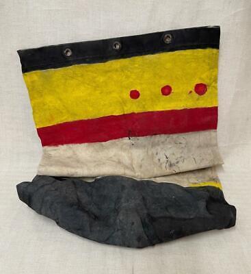 1940s Handbags and Purses History Rare WWII Kit Bag - Unusual Painted Markings $55.06 AT vintagedancer.com