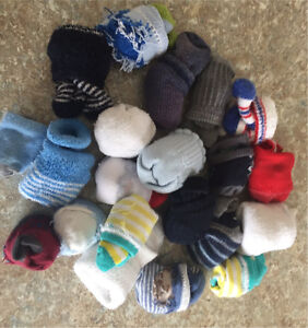 Boys socks 0-3 months or bigger
