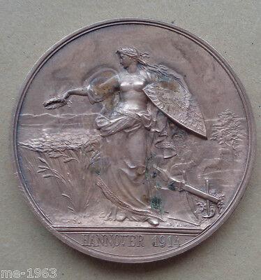 Medaille 1914 HANNOVER Deutsche Landwirtschaftsgesellschaft Dem Verdienste