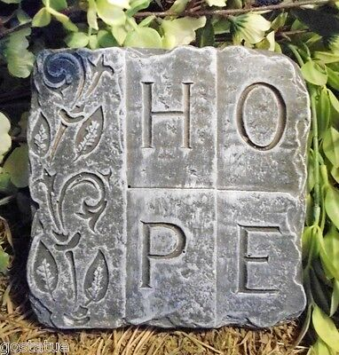 plastic mould mold  concrete mold plaster mold HOPE plaque mould
