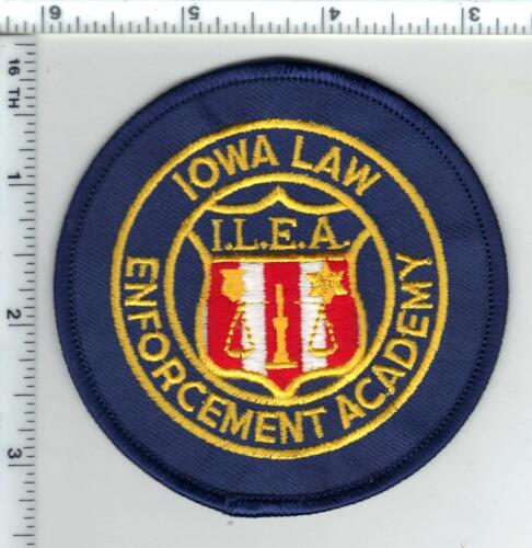 Iowa Law Enforcement Academy Shoulder Patch - new from the 1980