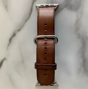 Authentic Apple Watch genuine leather strap 42mm 44mm
