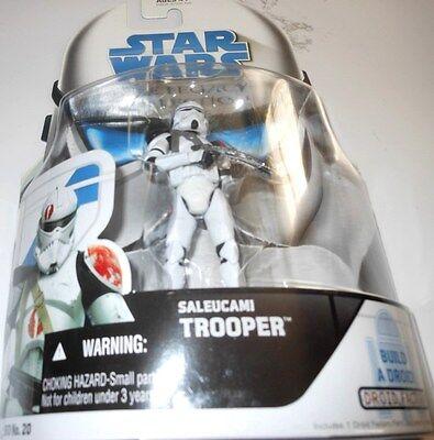 "STAR   WARS   SALEUCAMI  TROOPER   33/4""  Action  Figure  yr2008"