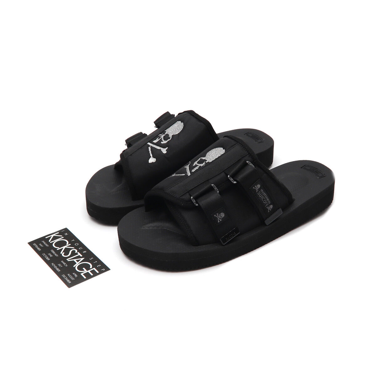 b8ff525386 Mastermind JAPAN x SUICOKE KAW-VMM-JAPAN / OG-081VMM-JAPAN Black MMJ Sandals