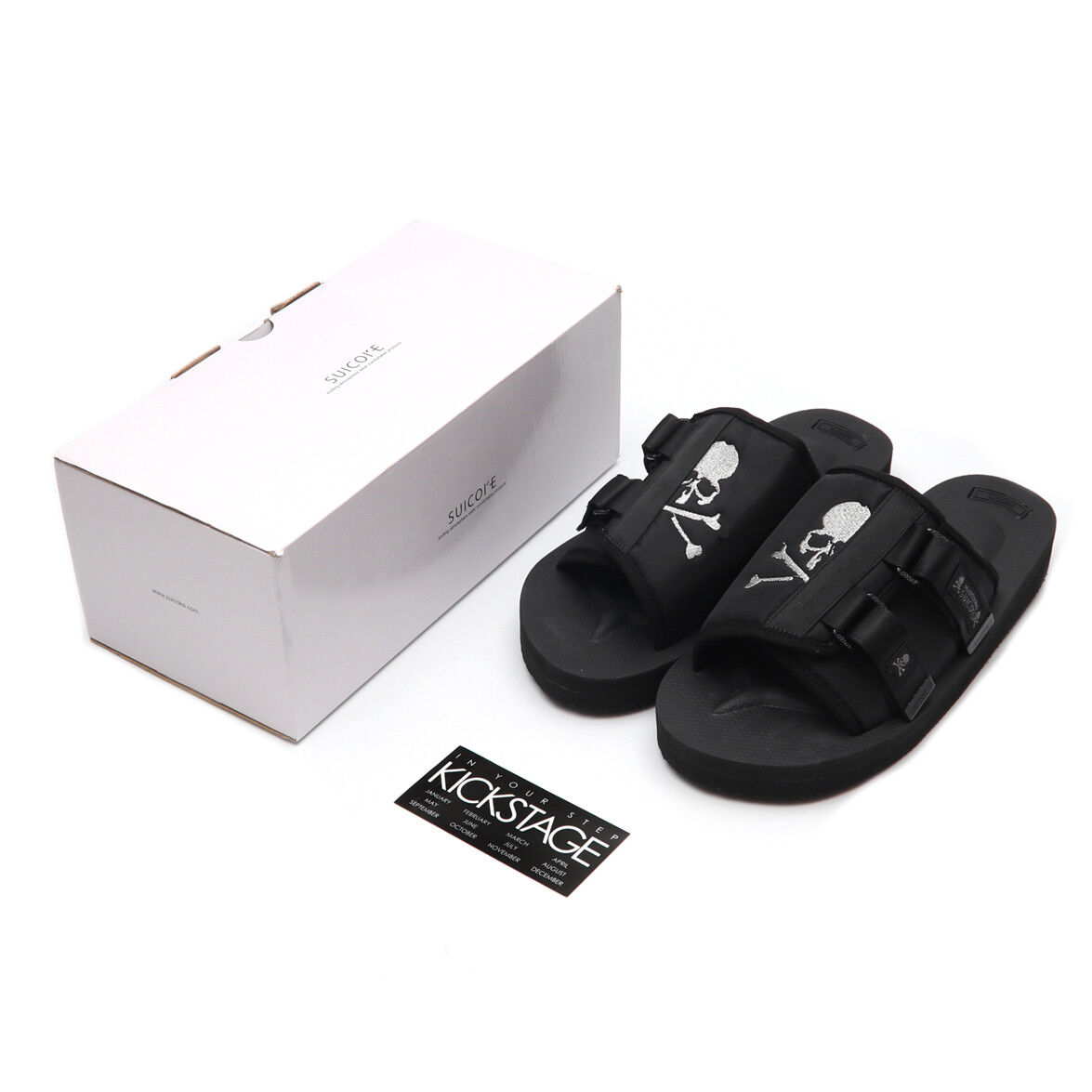 8a6d5e363d5 Mastermind JAPAN x SUICOKE KAW-VMM-JAPAN / OG-081VMM-JAPAN Black MMJ Sandals