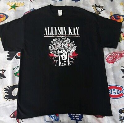 Allysin Kay T-Shirt Is Judging You XL sienna knockout NWA wrestling impact TNA - Nwa Halloween