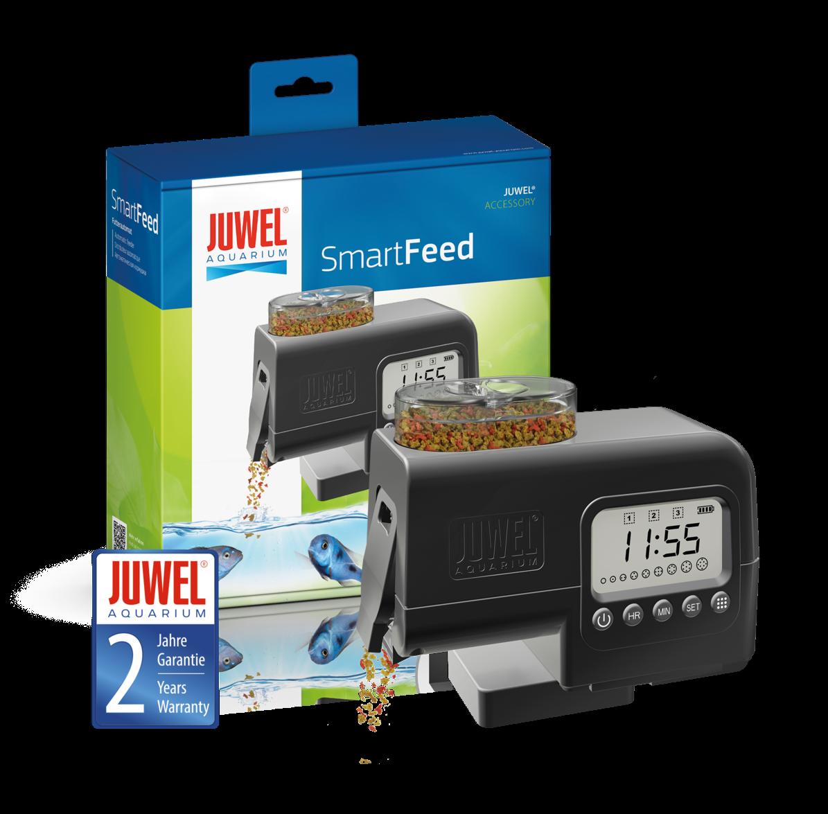 JUWEL Futterautomat für Aquarien SmartFeed Smart Feed # 89010 Premium-Automat