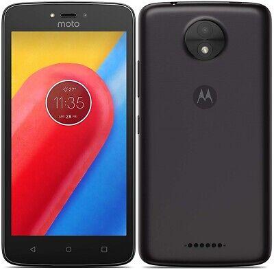 "Motorola XT1754 Moto C 4G 5"" Smartphone 16GB Unlocked Android - (Black) B+"