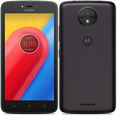 "Motorola XT1754 Moto C 4G 5"" Smartphone 16GB Unlocked Sim-Free - (Black) B+"