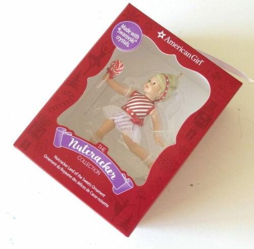 NEW American Girl Nutcracker Land of the Sweets Ornament Swarovski Crystal NIB
