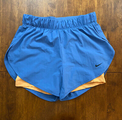 Womens Nike Running Shorts Dri-fit S Small (8-10)