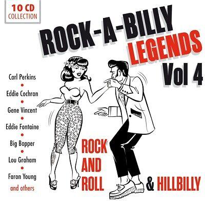R.York - Rock'a'Billy Legends. Vol.4, 10 Audio-CDs