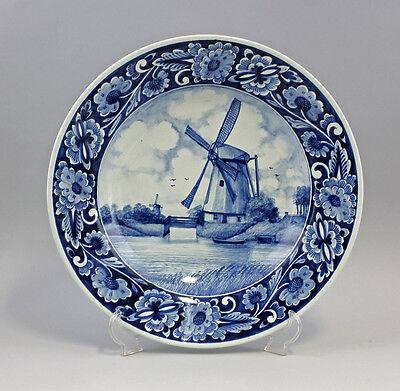 Teller Blaudekor Niederrhein Windmühle 25445149