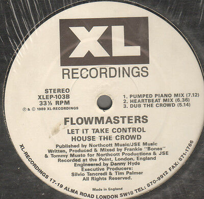 Flowmasters   Energy Dawn Ep   1989   Xl Recordings   Xlep 103   Uk