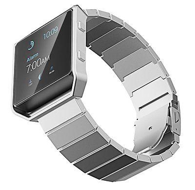 JETech 2235 Fitbit Blaze Band Stainless Steel Bracelet Strap Watch Band