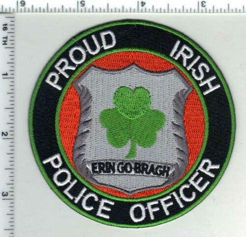 Proud Irish Police Officer - Erin Go Bragh - Shoulder Patch