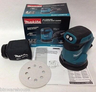 Makita XOB01Z NEW 18V LXT Li-Ion 5 in Random Orbit Sander (Tool Only) NEW IN BOX