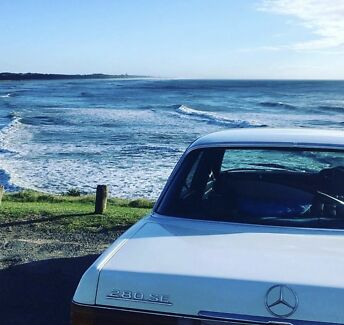 1974 Mercedes Benz 280SE Burringbar Tweed Heads Area Preview