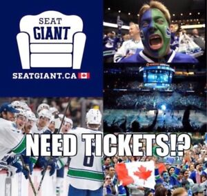 VANCOUVER CANUCKS TICKETS FROM JUST $33 CAD!