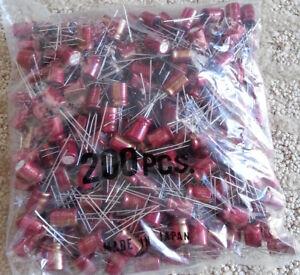 Elna Cerafine ROA Electrolytic Capacitors 10uF/63V NOS (200 pcs.)