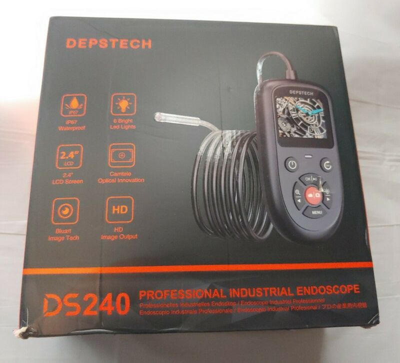 Depstech ds240 professional industrial endoscope