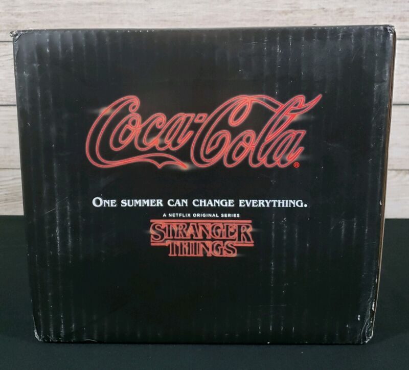 New Coke Stranger Things 1985 Limited Edition Collectors Pack Coca-Cola Netflix