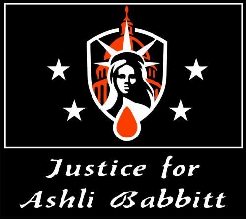 Ashli Babbit Justice Sticker 3.5x4 Patriot Sticker America USA  - $5.00