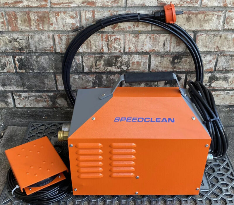 Speedclean SC-TC-50 Air Chiller  And Heat Exchange Tube Cleaner W/ SC-TC-502-25