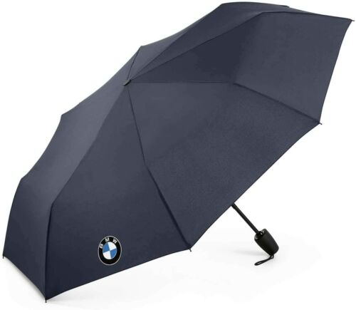 BMW Pocket Umbrella with Logo - Dark Blue With Cover - 80232466303