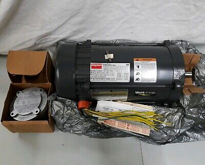 Energy Efficient Electric Motors (DAYTON ENERGY EFFICIENT ELECTRIC MOTOR HAZARDOUS LOCATION 3GC80 THREE)