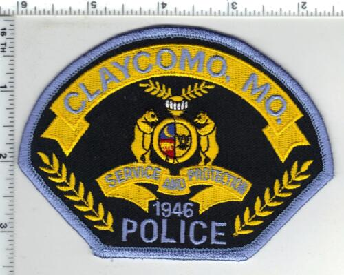 Claycomo Police (Missouri)  Shoulder Patch from the 1990