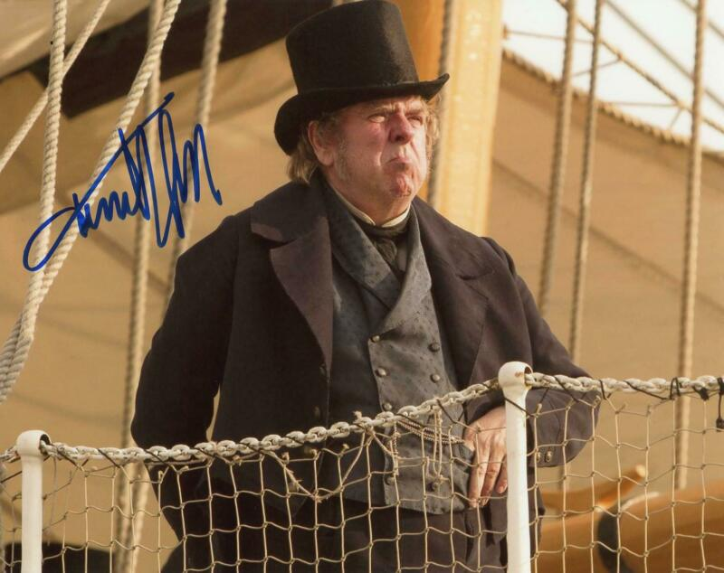 """Timothy Spall """"Mr. Turner"""" AUTOGRAPH Signed 8x10 Photo C"""
