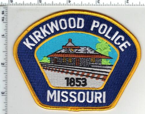 Kirkwood Police (Missouri)  Shoulder Patch from the 1980