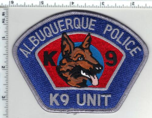Albuquerque Police (New Mexico) K-9 Unit Shoulder Patch from the 1980