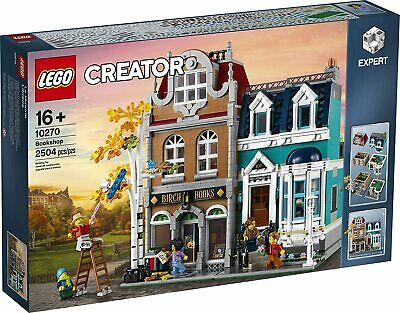 🔥SHIPS FREE - IN HAND🔥 LEGO Creator Expert Bookshop 10270