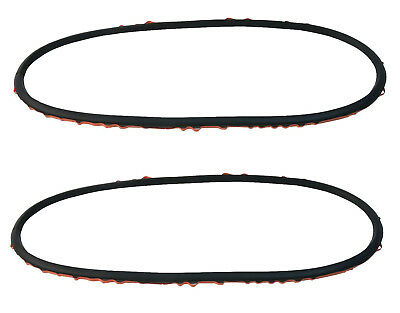 (GENUINE BMW E46 Left + Right Headlight Lens Gasket Pair, Set, Two 63128380210)