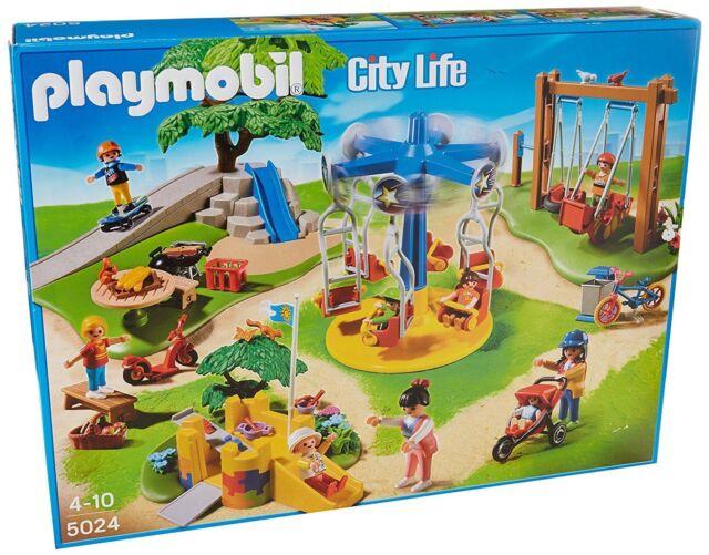 NEW! PLAYMOBIL 5024 CITY LIFE - PLAYGROUND