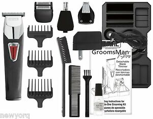 wahl men grooming body hair shaving beard mustache precision trimmer kit. Black Bedroom Furniture Sets. Home Design Ideas