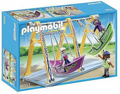 Playmobil 5553 Boat Swings Ride Play Set Ages 4+ New Toy Play Gift Girls Boys