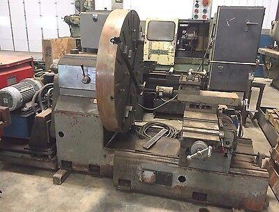 9566 Tadu 54 Toolroom Lathe Turning Milling Equipment Used