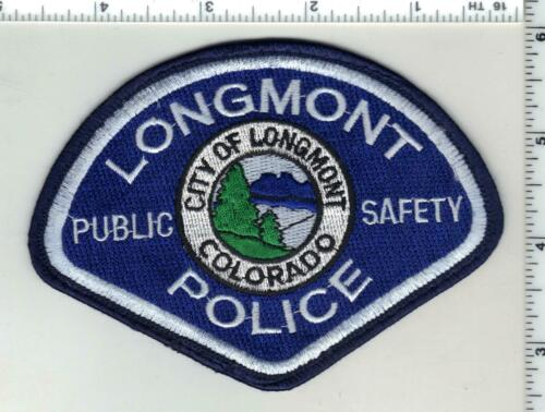 Longmont Police (Colorado) 3rd Issue Uniform Take-Off Shoulder Patch