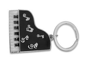 Grabado-personalizado-Personalizado-llavero-con-bolsa-de-regalo-Piano-I9
