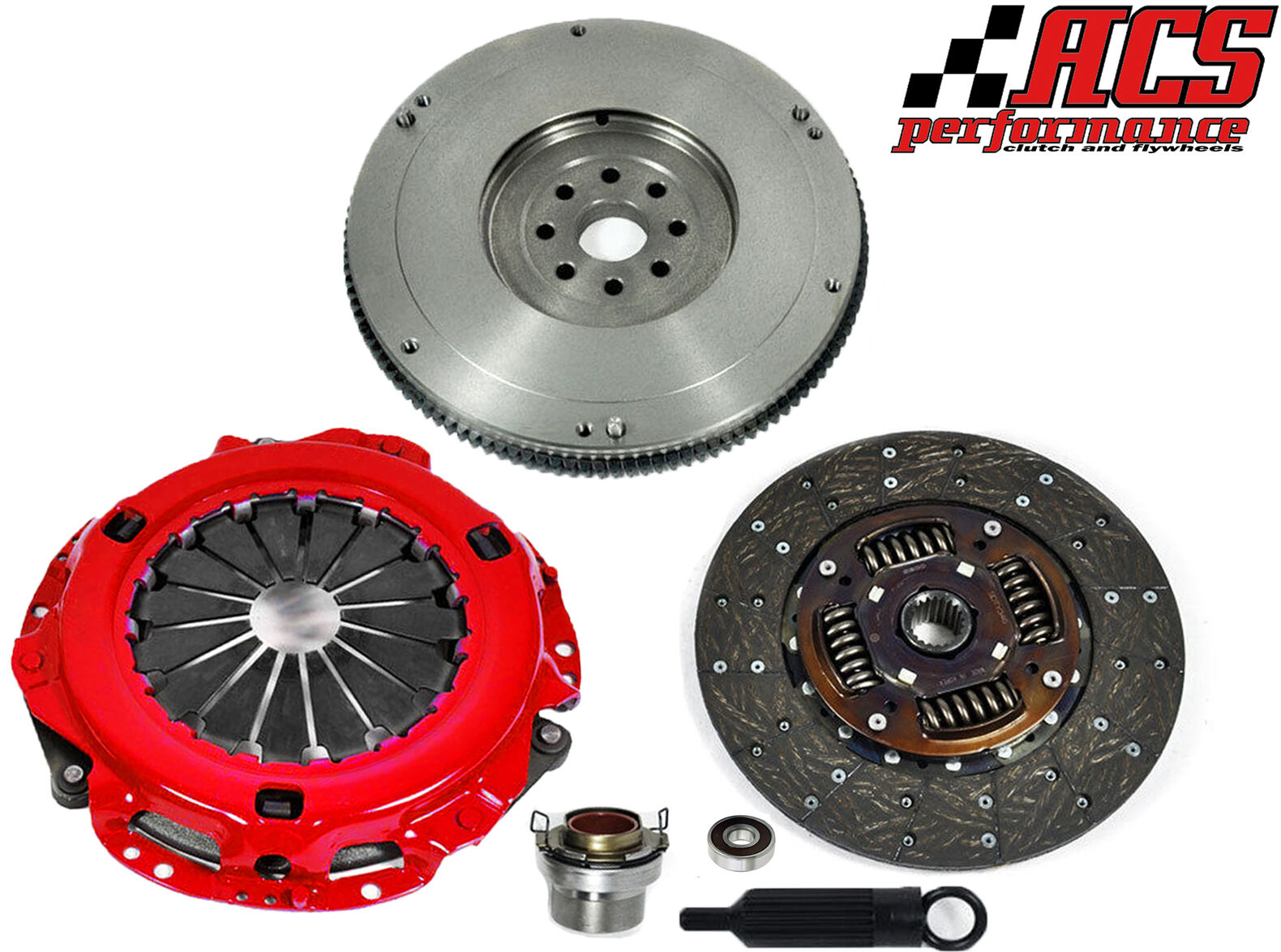 Toyota Truck Clutch Replacement : Acs stage clutch hd flywheel kit  toyota