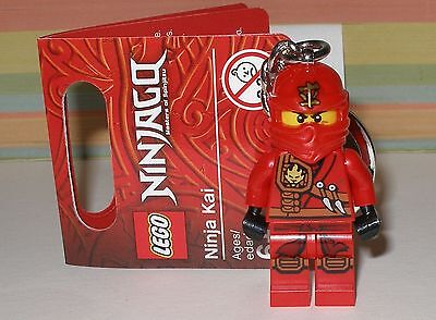 Lego Schlüsselanhänger Ninjago Roter Ninja Kai