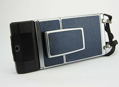 Polaroid SX-70 Replacement Cover-Laser Cut Recycled Leather - 3 Colors Available