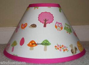 Love-N-Nature-Owl-Lampshade-made-with-Target-Circo-sheet-fabric-girls-lamp-shade