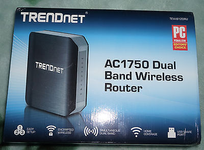 TRENDnet TEW-812DRU AC1750 Dual Band Wireless Router 2