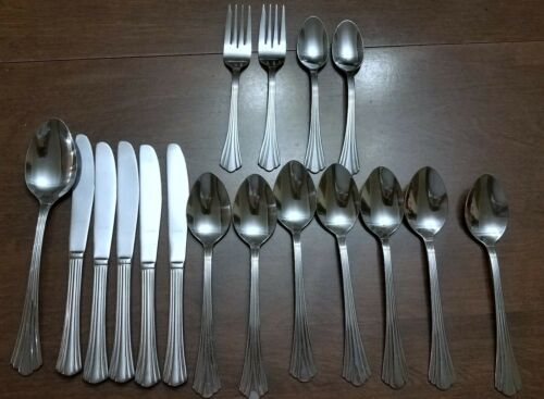 "17 Pcs International ""Fair"" Silver Plate new (E.P.Korea)"