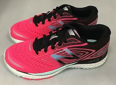 New Balance KJ880GSY 880V7 Hot Pink Black & Light Blue Girls Running Shoes 4