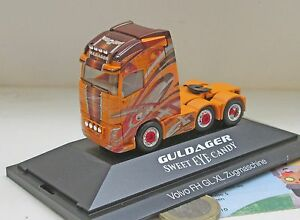 Herpa-110860-VOLVO-FH-gl-XL-6x2-Trattore-034-GULDAGER-034-DK